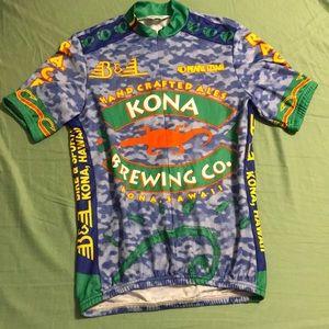 Retro Pearl Izumi bicycling jersey
